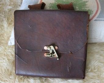 leather belt pouch, binoculars case
