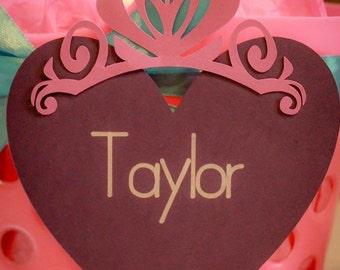 Princess name tags