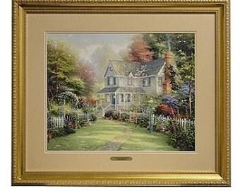 Thomas Kinkade Victorian Gardens II
