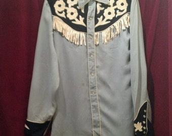 Vintage 1950's Western wear, Ranchwear Shirt /Califorina Ranchwear, Los Angeles  USA.