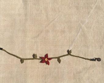niddle lace bracelets