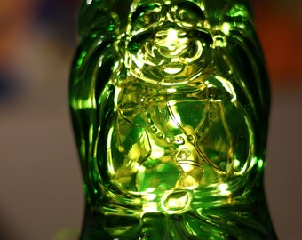 Lucky Buddha Beer Lamp
