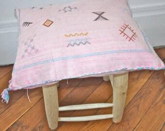 Cushion faded pink Sabra MadeForSun