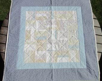 Child's Handmade Patchwork Quilt