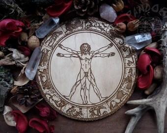 Pentacle, Vitruvian man