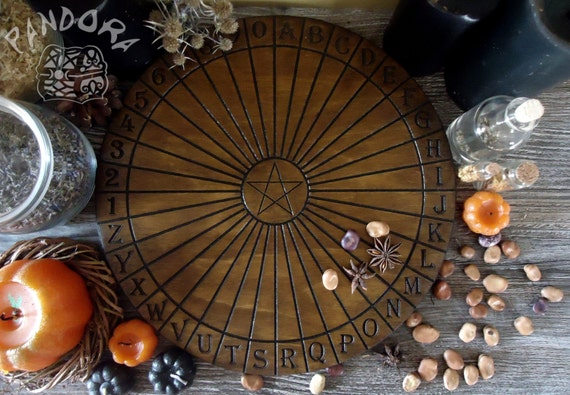 Spirit Guide Pendulum Dowsing Board Print by ...