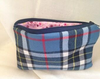 Thomson tartan wool purse
