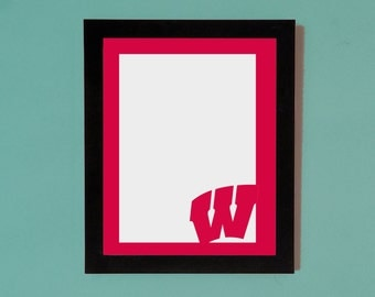 Wisconsin Badgers Picture Frame Mat