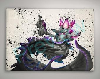 River Spirit Nami League of Legends Poster