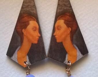 Earrings Modigliani