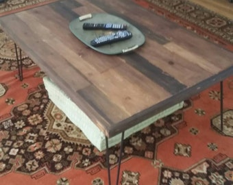 31in x 48in Coffee Table w 16in hairpin legs included