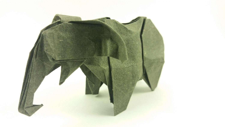 Origami elephant jeuxipadfo Choice Image