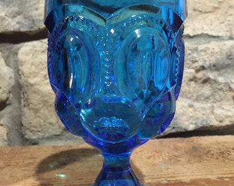 Large Moon and Stars Tumbler Blue
