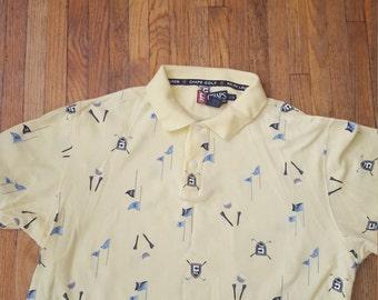 Vintage Chaps Ralph Lauren polo golf shirt