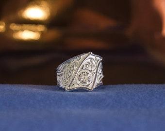 Band ring flower cross 15 days sponses Strassoldo *