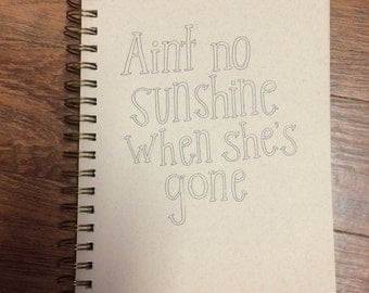 No Sunshine Print