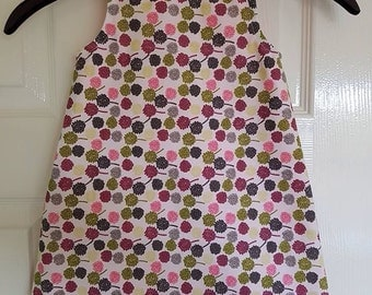 Handmade fully lined dress, brand new.