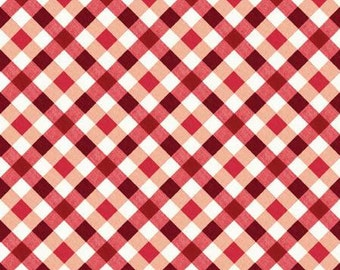 Apple Blossom Festival - red picnic plaid