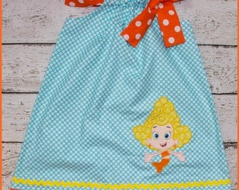 Bubble Guppies Deema Pillowcase style dress