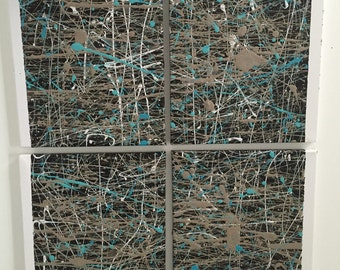 """ABSTRACT CANVAS - """"Scribble"""""""