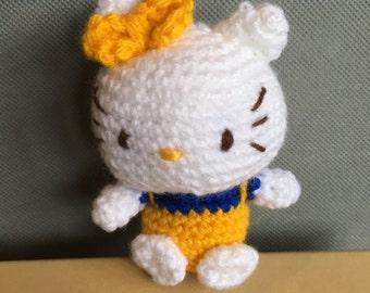 Crochet Hello Kitty doll - Mimmy