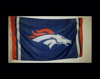 3x5 Denver Broncos Flag Banner