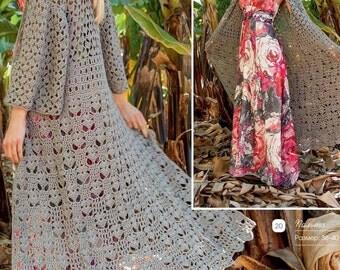 Summer women's coat crocheted / custom