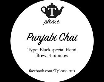 Punjabi Chai loose leaf tea