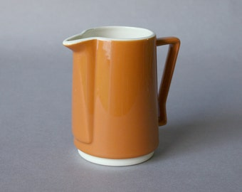 Homer Laughlin Creamer, Mid Century Danish-style, Burnt Orange - Morocco 1969