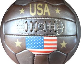 USA - Vintage Flag Soccer ball