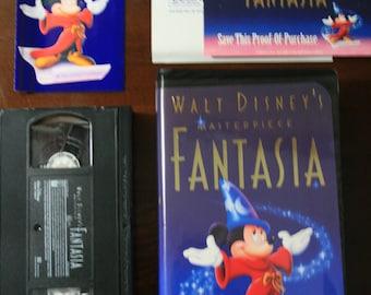 Walt Disney's Masterpiece - FANTASIA vhs