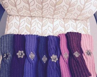 Knit Wool Headband