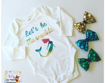 Rainbow Lets be mermaids