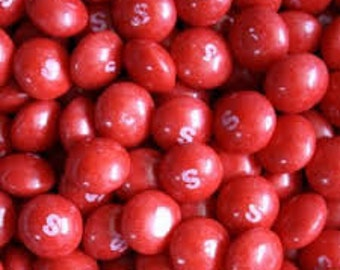 1 LB Red Skittles ONLY