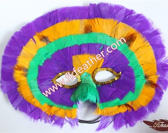 Feather Mask - 07