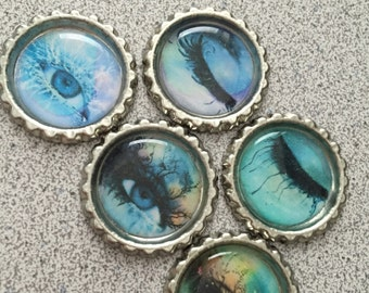 Shatter Me Bottle Cap Magnets