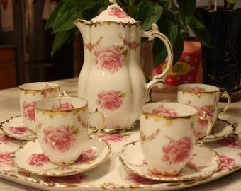 Rose Tea Set