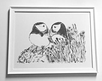 Lundi Love Framed Print