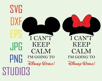 Mickey Keep Balm Minnie Ears SVG Files, Svg, Dxf, Eps, Studio 3, Png, Jpg, Silhouette Studio,Cricut Files,Silhouete Cameo, Cutting Files