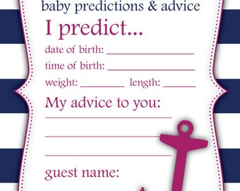 Baby Predictions
