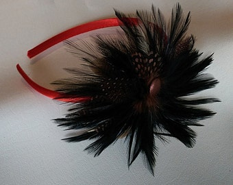 Feather Floral Tooling Bow Headband for all ages!