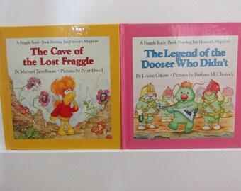 2 Fraggle Rock Books