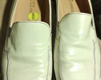 Enzo Angiolini Loafer White  (8 M)