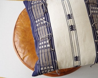 Among-Mong - Handmade cushion inspired from Naga tribal designs 50cm x 50cm
