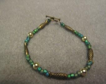 HANDMADE FISH BEADED Bracelet