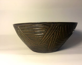 Carved Ceramic Bowls