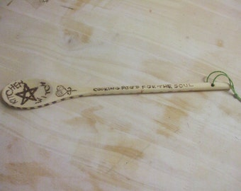 "Pentagram ""Kitchen Witch"" Spoon."