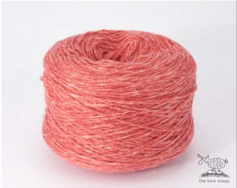 85% cashmere/mohair Knitting yarn, per 100gr, strawberry/coral / art. 2