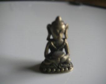 Small brase chinese good luck bhudda dog amulet