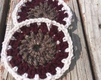 Crochet coaster- set of 4